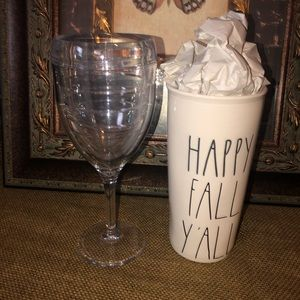 2 Pc. Rae Dunn and Tervis Combo
